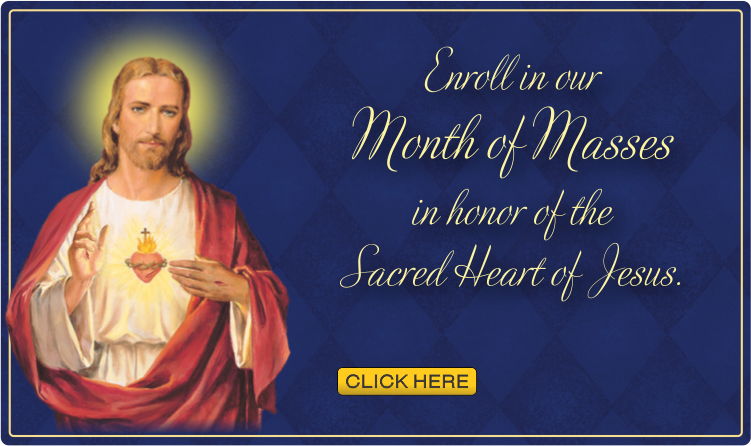 Sacred heart Month of Masses