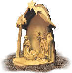 Click here for more information about  Hand-Made One Piece Nativity Set
