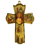 Click here for more information about Life of Christ Wall Cross